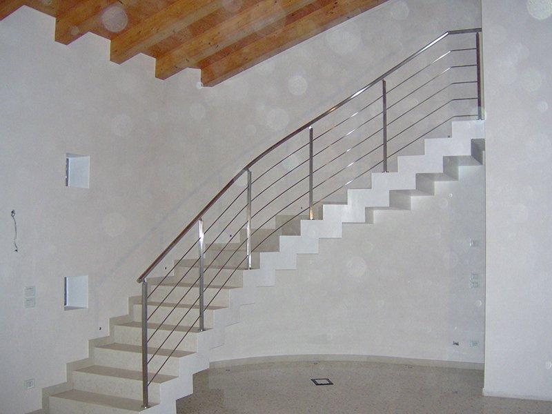F c creazioni met serramenti in alluminio legno ferro - Ringhiere da interno ...